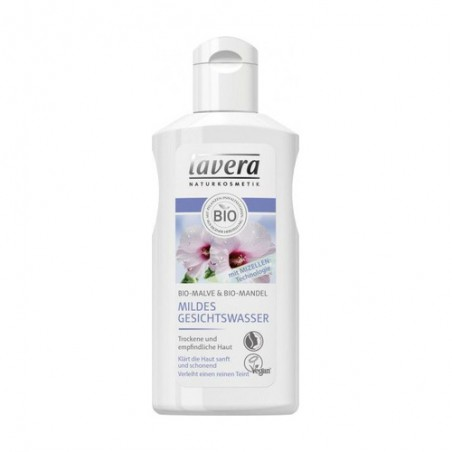 Leche Limpiadora Suave Almendras y Malva Lavera (125 ml) | Cosmética Natural Online | Maquillaliux Cosmética Ecológica