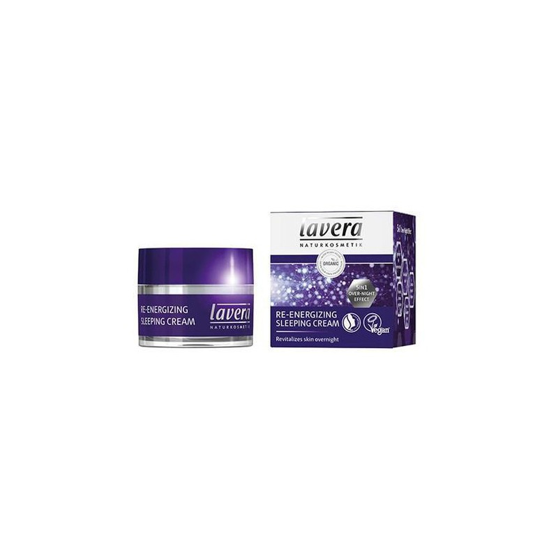 Crema Sleeping Reparadora Lavera (50 ml)   Cosmética Natural Online   Maquillaliux Cosmética Ecológica