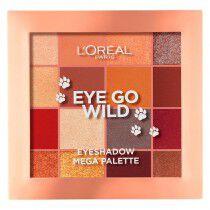 Paleta de Sombras de Ojos Go Wild L'Oreal Make Up | L'Oreal Make Up | Sombras de ojos | Maquillaliux.com  | Tienda Online Maq...