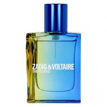 Perfume Hombre This Is Love Pour Lui Zadig & Voltaire EDT (30 ml) (30 ml) | Zadig & Voltaire | Perfumes de hombre | Maquillal...