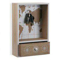 Colgador Atlas Madera (8 x 30 x 20 cm)   BigBuy Home   Accesorios y organizadores   Maquillaliux.com    Tienda Online Maquill...