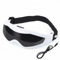 Comprar Máscara de Ojos Vibrador USB Blanco/Negro (Reacondicionado D) Online en Maquillaliux.com   Masajeadores al mejor prec...