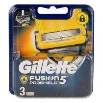 Comprar Cabezal de Recambio Fusion Proglide Gillette (3 uds) Online en Maquillaliux.com | Depilación y afeitado al mejor prec...