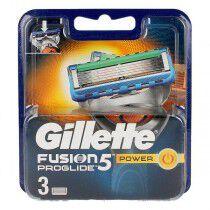 Comprar Cabezal de Recambio Fusion Proglide Power Gillette Maquinilla de Afeitar (3 uds) Online en Maquillaliux.com | Depilac...