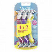Comprar Maquinillas de Afeitar Desechables Gillette Venus 3 (6 uds) (Reacondicionado A+) Online en Maquillaliux.com | Depilac...