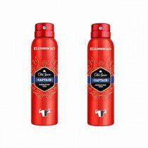 Comprar Desodorante en Spray Captain Deo Old Spice (2 x 150 ml) Online en Maquillaliux.com | Desodorantes en Spray al mejor p...