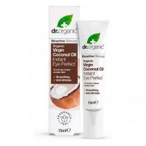 Comprar Contorno de Ojos Coconut Oil Dr.Organic (15 ml) Online en Maquillaliux.com | Contorno de ojos al mejor precio | Cosmé...