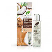 Comprar Aceite Hidratante Coconut Oil Dr.Organic (100 ml) Online en Maquillaliux.com | Cremas hidratantes y exfoliantes al me...