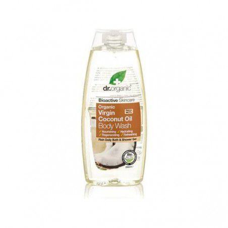 Comprar Gel de Ducha Coconut Oil Dr.Organic (250 ml) Online en Maquillaliux.com | Jabones y geles al mejor precio | Cosmético...