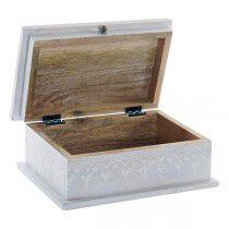 Caja Decorativa DKD Home Decor Indio Madera de mango (2 pcs) (19,5 x 8 x 11,5 cm) (25 x 16 x 10 cm) | DKD Home Decor | Acceso...