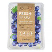 Comprar Mascarilla Fresh to Go Grape TonyMoly (22 g) Online en Maquillaliux.com | Mascarillas al mejor precio | Cosméticos On...