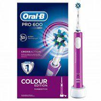 Cepillo de Dientes Eléctrico Oral-B PRO 600 (Reacondicionado A+) | Oral-B | Higiene bucal | Maquillaliux.com  | Tienda Online...