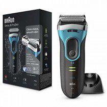 Comprar Afeitadora eléctrica Braun Series 3 ProSkin 3080 s Negro/Azul (Reacondicionado A+) Online en Maquillaliux.com   Depil...