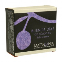Buenos días. Gel de Ducha Sólido Bio Matarrania | Cosmética Natural Online | Maquillaliux Cosmética Ecológica
